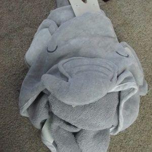 Other - Elephant Infant Hooded Bath Towel NWT
